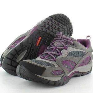 Merrell Azura Waterproof Purple Hiking Shoe